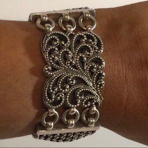 Lois Hill Sterling 925 Silver Bracelet